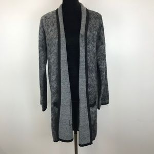 Simply Styled Faux Fur Cardigan